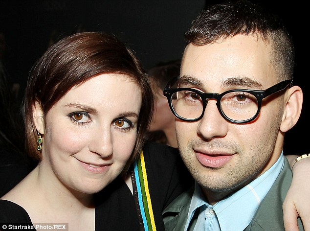 A fine romance: Lena lives in NYC with Jack, who she met on a blind date organised by mutual friends