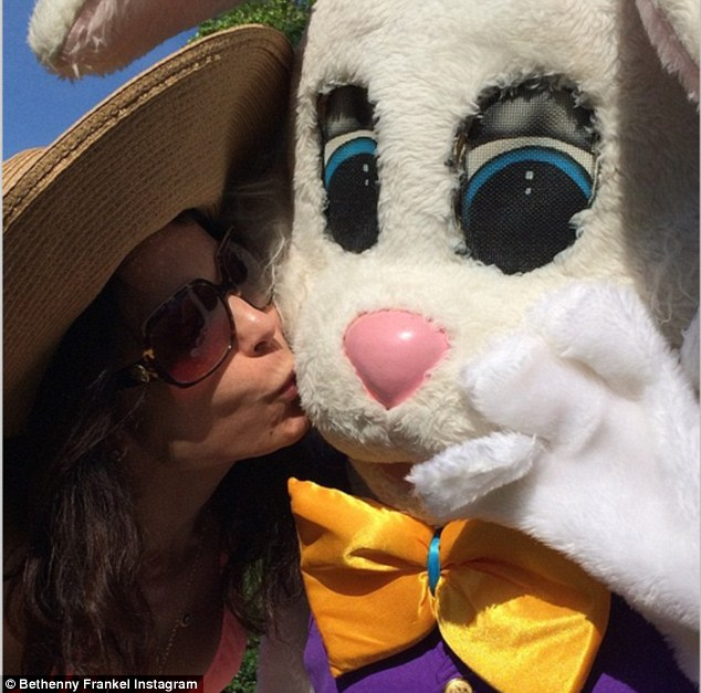 What a catch Bethenny! 'The new man in my life always bring me chocolate... And eggs... Not really too sure about the eggs'