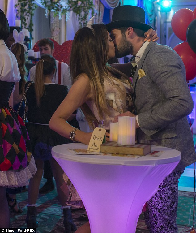 Change of heart: Jessica Wright and Dan Edgar decided to give their romance a second chance during Sunday night's season finale of TOWIE