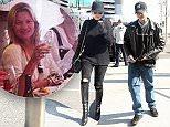 Rita Ora and Ricky Hilfiger at Heathrow today 6/4/15