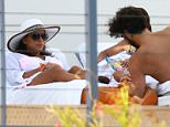Picture Shows: Eva Longoria, Jose Antonio Baston  April 05, 2015    Couple Eva Longoria and Jose Antonio Baston are seen relaxing poolside on Easter Sunday in Miami, Florida. May will mark three years since the series finale of 'Desperate Housewives' aired but Eva has been busy on various projects including the upcoming TV movie, 'Telenovela'.    Non-Exclusive  UK RIGHTS ONLY    Pictures by : FameFlynet UK © 2015  Tel : +44 (0)20 3551 5049  Email : info@fameflynet.uk.com