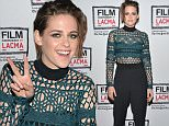 LOS ANGELES, CA - APRIL 03:  Suzie Riemer and Kristen Stewart attend the Film Independent at LACMA screening and Q&A of 'Clouds Of Sils Maria' at Bing Theatre At LACMA on April 3, 2015 in Los Angeles, California.  (Photo by Araya Diaz/WireImage)