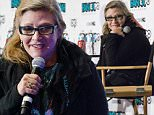 VANCOUVER, BC - APRIL 04:  Actress Carrie Fisher attends the celebrity Q&A session at Fan Expo Vancouver 2015 at the Vancouver Convention Centre on April 4, 2015 in Vancouver, Canada.  (Photo by Phillip Chin/WireImage)