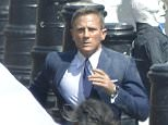 """MEXICO CITY, MEXICO - MARCH 26: Daniel Craig is seen on the set of """"Spectre"""" on March 26, 2015 in Mexico City, Mexico. (Photo by Clasos/GC Images)"""