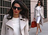 EXCLUSIVE: Amal Clooney walks around Columbia University campus on a nice spring day in New York City.\n\nPictured: Amal Clooney\nRef: SPL992776  060415   EXCLUSIVE\nPicture by: Splash News\n\nSplash News and Pictures\nLos Angeles: 310-821-2666\nNew York: 212-619-2666\nLondon: 870-934-2666\nphotodesk@splashnews.com\n