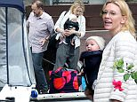 April 4th, 2015: \nCate Blanchett is seen with husband Andrew Upton with their newly adopted daughter Edith and sons at their new holiday house in Berowa Waters in Sydney, Australia.\nEXCLUSIVE\nMandatory Credit: INFphoto.com Ref: infausy-12/42