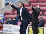 April 6th 2015 - Wigan, UK - WIGAN V DERBY -  Malky Mackay PIcture by Ian Hodgson/Daily Mail