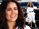EXCLUSIVE: Salma Hayek was not happy to wait one hour in her car (with her assistant)for husband Francois-Henri and daughter Valentina to show up for lunch in West Hollywood at Mauro's cafe.But the French Billionaire made up for it and took her on a shopping spree next door to Fred Segal boutiques.\nAnd it was the waitress turn not to be happy when the threesome got a $90 Dollars lunch and left a $10 Dollars tip.\n\nPictured: Salma Hayek,Franc¿ois-Henri Pinault,Valentina Paloma Pinault.\nRef: SPL993220  060415   EXCLUSIVE\nPicture by: JLM / Splash News\n\nSplash News and Pictures\nLos Angeles: 310-821-2666\nNew York: 212-619-2666\nLondon: 870-934-2666\nphotodesk@splashnews.com\n