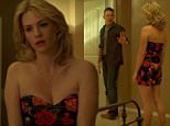 Ethan Hawke and January Jones in tense scene from Good Kill