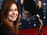 "SANTA MONICA, CA - APRIL 06:  Actress Dana Delany arrives at the Los Angeles premiere of FX's new series ""The Comedians"" at The Broad Stage on April 6, 2015 in Santa Monica, California.  (Photo by Amanda Edwards/WireImage)"