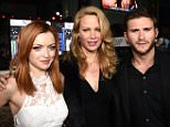 "HOLLYWOOD, CA - APRIL 06:  (L-R) Actress Francesca Eastwood, Alison Eastwood and actor Scott Eastwood attend the premiere of Twentieth Century Fox's ""The Longest RIde"" at the TCL Chinese Theatre IMAX on April 6, 2015 in Hollywood, California.  (Photo by Michael Buckner/Getty Images)"