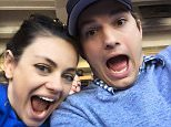 Ashton Kutcher Love winning on opening day. Go Dodgers!