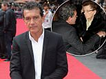 """Actor Antonio Banderas attends """"The Expendables 3""""  World Premiere at the Odeon Leicester Square on August 4, 2014 in London, England. \n\nThe Expendables 3 is released on August 14, 2014.  \n\n\nLONDON, ENGLAND - AUGUST 04: \n(Photo by Dave J Hogan/Getty Images for Lionsgate)\n\n""""Please note this image forms part of the Getty Premium Access agreement and may incur an additional fee. If reused it must be downloaded from the Getty site"""""""