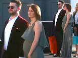 Exclusive... 51702103 Celebrities spotted at Robert Downey Jr.'s 50th birthday bash at Barker Hangar in Santa Monica, California on April 4, 2015. Robert was seen carrying a lunch box, which all of the guests got a lunch box filled with gifts.. Jennifer Aniston channeled her inner Janis Joplin and Orlando Bloom planted a huge kiss on Justin Theroux's cheek. Gwyneth Paltrow arrived with her rumored new man, 'Glee' producer Brad Falchuk. Brad made sure to put his arm around Gwyneth as they walked into the party. Celebrities spotted at Robert Downey Jr.'s 50th birthday bash at Barker Hangar in Santa Monica, California on April 4, 2015. Robert was seen carrying a lunch box, which all of the guests got a lunch box filled with gifts.. Jennifer Aniston channeled her inner Janis Joplin and Orlando Bloom planted a huge kiss on Justin Theroux's cheek. Gwyneth Paltrow arrived with her rumored new man, 'Glee' producer Brad Falchuk. Brad made sure to put his arm around Gwyneth as they walked into