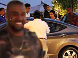EXCLUSIVE: The superstar couple dined at Nobu on April 4 and Kanye could not stop smiling as he waited at the valet. The car appears to belong to a friend or assistant of the couple. \n\nPictured: Kim Kardashian and Kanye West\nRef: SPL989752  060415   EXCLUSIVE\nPicture by: Jacson / Splash News\n\nSplash News and Pictures\nLos Angeles: 310-821-2666\nNew York: 212-619-2666\nLondon: 870-934-2666\nphotodesk@splashnews.com\n
