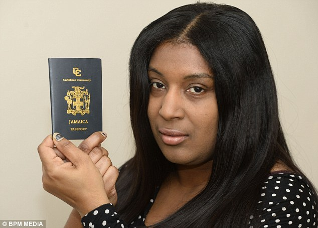 Loushanna Craig, from Erdington in Birmingham, had gone to Tenerife with her husband for three-day holiday but was refused to fly home over fears she was an illegal immigrant
