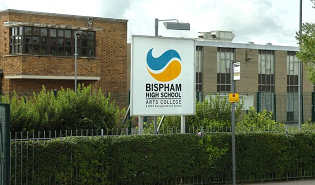 Bispham High School, Blackpool - where Aaron organised his sit in to protest against lack of work