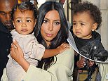 7.APRIL.2015 - LOS ANGELES - USA\nKIM KARDASHIAN CARRIES A SLEEPY BABY NORI WEST AS SHE HEADS OUT OF LOS ANGELES WITH KANYE WEST ON A FLIGHT AT LOS ANGELES INTERNATIONAL AIPORT ( LAX ) HEADED FOR ARMENIA. THE FAMILY MADE THEIR WAY THROUGH A CROWD OF FANS WITH THEIR SECURITY HEADED FOR THEIR DEPARTURE GATE.\nBYLINE MUST READ : XPOSUREPHOTOS.COM\n*AVAILABLE FOR UK SALE ONLY*\n***UK CLIENTS - PICTURES CONTAINING CHILDREN PLEASE PIXELATE FACE PRIOR TO PUBLICATION ***\n*UK CLIENTS MUST CALL PRIOR TO TV OR ONLINE USAGE PLEASE TELEPHONE 0208 344 2007*