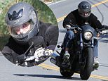 Please contact X17 before any use of these exclusive photos - x17@x17agency.com   While the Kardashian/ Jenner clan goes to Sunday mass, Bruce rides his motorcycle. While he's in the process of becoming a women, he still likes to ride his manly motorcycle.  April 5, 2015 x17online.com EXCLUSIVE