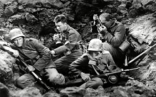 All Quiet on the Western Front (1930), starring Ben Alexander, Lew Ayres and Louis Wolheim.