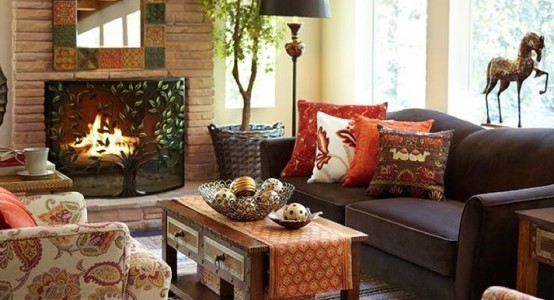 Awesome-Fall-Living-Room-Décor-Ideas