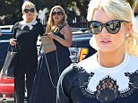EXCLUSIVE: Best friends, Jessica Simpson and Cacee Cobb hang out at a studio in Los Angeles, CA. The fashion mogul and her heavily pregnant friend looked chic in their contrasting outfits. Jessica went for sleek and sophisticated while Cacee opted for the comfortable, Californian bohemian look.\n\nPictured: Jessica Simpson, Cacee Cobb \nRef: SPL994469  080415   EXCLUSIVE\nPicture by: ?/M A N I K/Splash News\n\nSplash News and Pictures\nLos Angeles: 310-821-2666\nNew York: 212-619-2666\nLondon: 870-934-2666\nphotodesk@splashnews.com\n