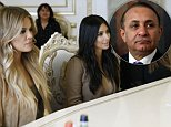 """A handout picture taken and released on April 9, 2015 by Armenian Government Press Service shows US reality TV star Kim Kardashian (2ndL) listening to Armenia's Prime Minister during a meeting in Yerevan. AFP PHOTO / ARMENIAN GOVERNMENT PRESS SERVICE / TIGRAN MEHRABYAN\nRESTRICTED TO EDITORIAL USE - MANDATORY CREDIT """"AFP PHOTO / ARMENIAN GOVERNMENT PRESS SERVICE / TIGRAN MEHRABYAN """" - NO MARKETING NO ADVERTISING CAMPAIGNS - DISTRIBUTED AS A SERVICE TO CLIENTSTIGRAN MEHRABYAN/AFP/Getty Images"""