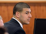 Former New England Patriots football player Aaron Hernandez appears in the court room of the Bristol County Superior Court House in Fall River, Ma., before the jury begin their deliberations, Wednesday, April 8, 2015.  Hernandez is accused of the murder of Odin Lloyd in June 2013. Today is the first day of jury deliberations. (AP Photo/Faith Ninivaggi, Pool)
