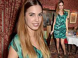 LONDON, ENGLAND - APRIL 08:  Amber Le Bon attends mytheresa.com x Francesco Russo dinner at Harrys Bar on April 8, 2015 in London, England.  (Photo by David M. Benett/Getty Images for mytheresa.com GmbH)
