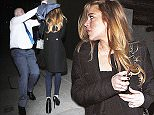 08.APRIL.2015 - LONDON - UK\n*** EXCLUSIVE ALL ROUND PICTURES ***\nLINDSAY LOHAN SEEN OUT AND ABOUT IN LONDON WITH HER NEW ITALIAN MAN MATHIA MILANI. THEY WERE BOTH SEEN WALKING TOWARDS AN APARTMENT BUILDING IN SOUTH LONDON. ONCE LINDSAY REALISED SHE WAS BEING PHOTOGRAPHED WITH NEW GUY MATHIA, HER SECURITY GUARD CAME TO THE RESCUE WITH HIS JACKET AND TOOK HER TO THE CAR. THEY BOTH SAT IN THE CAR WITH JACKETS OVER THEIR HEADS AND HEADED TO MAYFAIR WHERE MATHIA WAS THEN PICTURED WITH THE JACKET OFF HIS HEAD.\nBYLINE MUST READ : XPOSUREPHOTOS.COM\n***UK CLIENTS - PICTURES CONTAINING CHILDREN PLEASE PIXELATE FACE PRIOR TO PUBLICATION ***\n**UK CLIENTS MUST CALL PRIOR TO TV OR ONLINE USAGE PLEASE TELEPHONE  442083442007