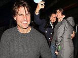 LONDON, ENGLAND - APRIL 08:  Tom Cruise sighting in Soho on April 8, 2015 in London, England.  (Photo by Mark Robert Milan/GC Images)