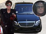 Please contact X17 before any use of these exclusive photos - x17@x17agency.com   PREMIUM EXCLUSIVE - Kris Jenner and Kourtney Kardashian made a trip out to Bruce Jenner's new secluded Malibu estate after a long time without seeing each other.  The pair got a tour of the grounds on a golf cart, and stopped to gas up, on Thursday, April 9, 2015 X17online.com