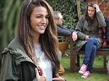 Michelle Keegan filming in Salford for her second job after leaving Coronation Street. The comedy film Strangeways Here We Come which ran by Stephen Lord.. .. 08/04/2015.. .. Byline Jon Baxter.. .. PICTURED.. Pic from MEN Syndication.. .. Mitchell Henry House.. Hollinwood Avenue.. Chadderton.. Oldham.. OL9 8EF.. syndication@men-news.co.uk