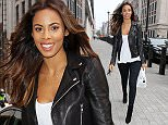 Mandatory Credit: Photo by Beretta/Sims/REX Shutterstock (4622165i)\n Rochelle Humes at the studios of BBC Radio 1\n Rochelle Humes out and about, London, Britain - 09 Apr 2015\n \n
