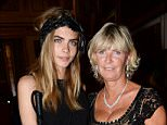 .. Mandatory Credit: Photo by REX Shutterstock (2627231av).. Cara Delevingne and mother Pandora Delevingne.. The Elephant Family Presents The Animal Ball, London, Britain - 09 Jul 2013.. ..