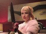 Scream Queens is Coming Fall 2015 to FOX!  Featuring Jaime Lee Curtis, Emma Roberts, Lea Michele, Oliver Hudson, Abigail Breslin, Keke Palmer, Skyler Samuels, Billie Lourd, Diego Boneta, Lucien Laviscount, Glen Powell and guest stars Ariana Grande and Nick Jonas.  Coming to FOX Fall 2015!