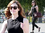 Picture Shows: Emmy Rossum  April 08, 2015\n \n 'Shameless' actress Emmy Rossum stops by a Petco in West Hollywood, California. \n \n Emmy dressed casually in a sleeveless black top and black jeans, which she accessorised with a maroon Bally Sommet bag.\n \n Exclusive - All Round\n UK RIGHTS ONLY\n \n Pictures by : FameFlynet UK © 2015\n Tel : +44 (0)20 3551 5049\n Email : info@fameflynet.uk.com