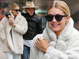 EXCLUSIVE TO INF.\nApril 9th, 2015: Super model Gigi Hadid and her singer song writer boyfriend Cody Simpson photographed being affectionate in New York City today. \nMandatory Credit: INFphoto.com Ref.:infusny-279\n