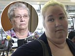 "EXCLUSIVE: **NO USA TV AND NO USA WEB** MINIMUM FEE APPLY** Mama June blames her ""money hungry bitch"" mother for driving a wedge between her and daughter Anna ""Chickadee"" Cardwell.\nJune and Chickadee are locked in a dispute over money, with June refusing to cut her daughter in on the money she has made since their show ""Here Comes Honey Boo Boo"" was cancelled.\nJune told a TMZ videographer at LAX she blames her mother for the fracture in her family.\n\nPictured: Mama June\nRef: SPL994996  090415   EXCLUSIVE\nPicture by: TMZ.com / Splash News\n\nSplash News and Pictures\nLos Angeles: 310-821-2666\nNew York: 212-619-2666\nLondon: 870-934-2666\nphotodesk@splashnews.com\n"