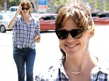 Picture Shows: Jennifer Garner  April 09, 2015\n \n Actress and busy mom Jennifer Garner stops to get lunch with her daughter Seraphina in Santa Monica, California. Garner is currently working on drama 'The Tribes of Palos Verdes,' due out in 2016. \n \n Non-Exclusive\n UK RIGHTS ONLY\n \n Pictures by : FameFlynet UK © 2015\n Tel : +44 (0)20 3551 5049\n Email : info@fameflynet.uk.com