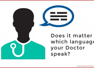 Does it matter which language your doctor speak
