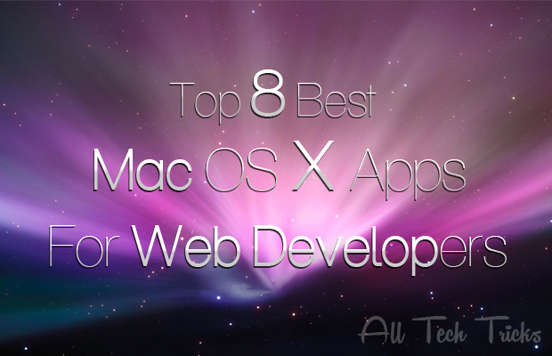 Mac OS X Apps , Apps, Top 8