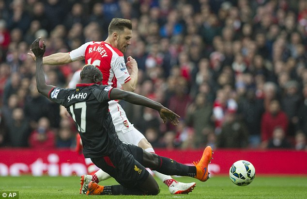 The defeat all but ends Sakho and Liverpool's hopes of competing in the Champions League again next year