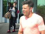 EXCLUSIVE: Mark Wright, Lauren Goodger and James Argent seen leaving the same gym in Essex .  Ref: SPL993440  090415   EXCLUSIVE Picture by: Splash News  Splash News and Pictures Los Angeles: 310-821-2666 New York: 212-619-2666 London: 870-934-2666 photodesk@splashnews.com