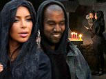 Kanye West puts veil on Kim Kardashian as Khloe and North go inside sacred holy monestary in Armenia. Kanye was all smiles as he saw his wife wearing the veil after applying in onto her hair. A monk even put his hand near North's face as a sign of peace upon entering the holy area. The group all walked the grounds wearing the veil's and even went inside where a cross was shown above them in stone. Khloe even washed her face with the water that flows on the ground in the monestary that was built in 1215 A.D. in the mountains of Armenia.?PICTURES BY BRIAN PRAHL SPLASH NEWS