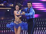"""DANCING WITH THE STARS - """"Episode 809"""" - The remaining celebrities and professional dancers performed a dance discipline for the Ballroom Round and the Latin Round, on MONDAY, MAY 4 (8:00-10:02 p.m., ET) on ABC. (ABC/KELSEY MCNEAL)\nMELISSA RYCROFT, TONY DOVOLANI"""