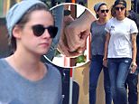 ***MANDATORY BYLINE TO READ INFPhoto.com ONLY***\nEXCLUSIVE: EXCLUSIVE TO INF. PREMIUM RATES APPLY. \n**�500 MINIMUM FEE**\nApril 4, 2015, Kristen Stewart and rumored girlfriend Alicia Cargile show PDA while out in Los Angeles, California. They were seen holding hands as they check out a bookstore in Downtown LA. \nMandatory credit: Mariotto/Chiva INFphoto.com Ref.: infusla-244/276\n\nPictured: Kristen Stewart, Alicia Cargile\nRef: SPL994296  040415   EXCLUSIVE\nPicture by: INFphoto.com\n\n