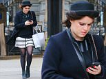 Picture Shows: Princess Eugenie, Princess Eugenie of York  April 09, 2015\n \n UK royal Princess Eugenie spotted out shopping at Intermix in New York City, New York. Eugenie was busy returning text messages as she walked home along the sidewalk. \n \n Exclusive All Rounder\n UK RIGHTS ONLY\n Pictures by : FameFlynet UK � 2015\n Tel : +44 (0)20 3551 5049\n Email : info@fameflynet.uk.com