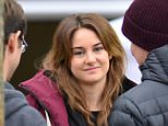 """EXCLUSIVE: Joseph Gordon-Levitt and Shailene Woodley film """"Snowden"""" directed by Oliver Stone in Washington, DC on April 9, 2015.   Pictured: Shailene Woodley Ref: SPL993592  090415   EXCLUSIVE Picture by: Splash News  Splash News and Pictures Los Angeles: 310-821-2666 New York: 212-619-2666 London: 870-934-2666 photodesk@splashnews.com"""