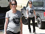 Picture Shows: Jennifer Love Hewitt  April 09, 2015\n \n Pregnant actress Jennifer Love Hewitt shows off her growing baby bump while out and about in Santa Monica, California. Jennifer is expecting her second child with husband Brian Hallisay.\n \n Exclusive All Rounder\n UK RIGHTS ONLY\n \n Pictures by : FameFlynet UK © 2015\n Tel : +44 (0)20 3551 5049\n Email : info@fameflynet.uk.com